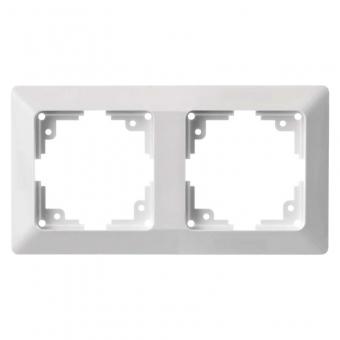 Two slot frame EMOS (white)