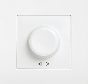 Šviesos reguliatorius KARRE baltas