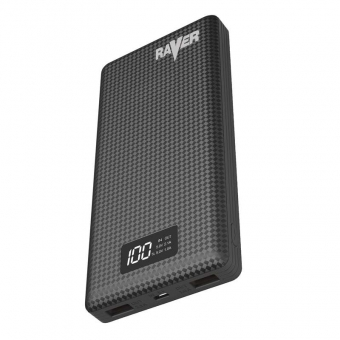 Mobilus įkroviklis Raver 2 USB Li-Ion 20000 mAh