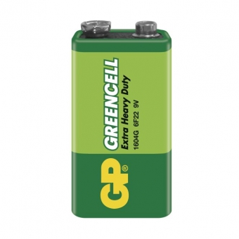 GP Greencell 6F22 (9 V)