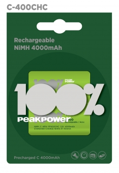 Akum. NiMH  C HR14 PP400CHC