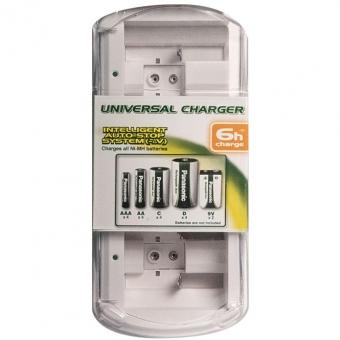 Baterijų įkroviklis (universalus)