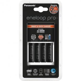 Baterijų įkroviklis Panasonic+ AA Eneloop Pro