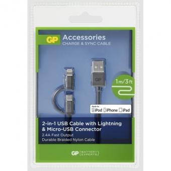 Laidas GP USB 2-in-1 1m