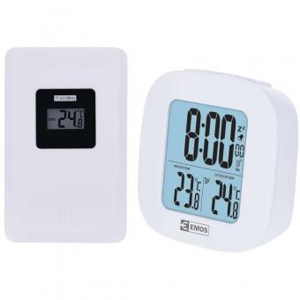 Bevielis skaitmeninis laikrodis-termometras