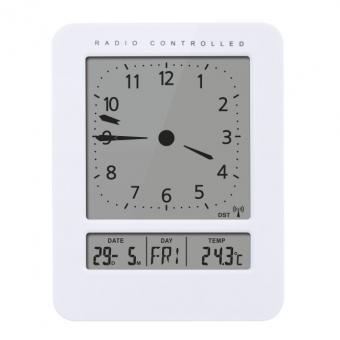 Skaitmeninis laikrodis su vidaus termometro funkcija