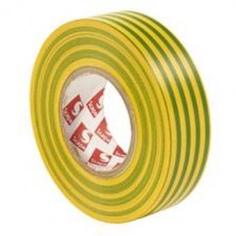 PVC. izoliacinė juosta Scapa 2702 15/10 (žalia/geltona)