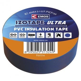PVC. izoliacinė juosta Izotape Ultra 15/10 (mėlyna)
