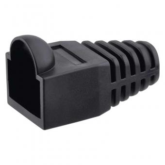 Protection connector RJ45 black (20 pcs)