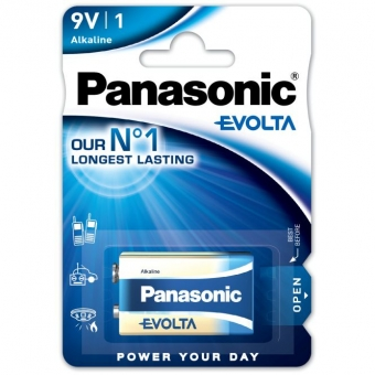 Panasonic Evolta 6LR61 (9V)