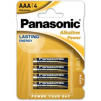 Panasonic Alkaline LR03 (AAA)