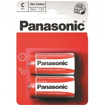 Panasonic Red Zinc R14 (C)