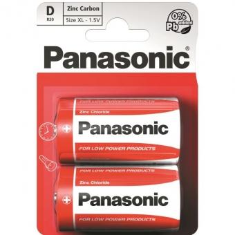 Panasonic Red Zinc R20 (D)
