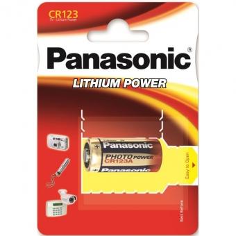 Panasonic Lithium CR123