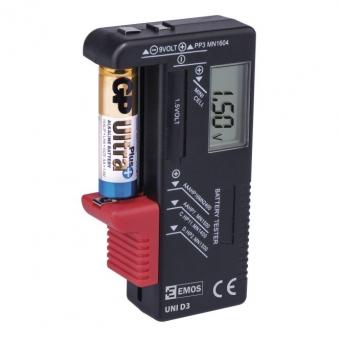 Baterijų testeris