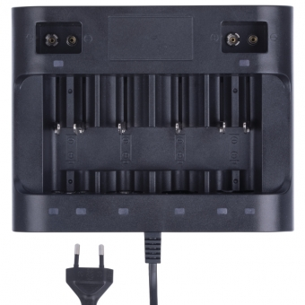 Baterijų įkroviklis (AA, AAA, C, D, 9V)