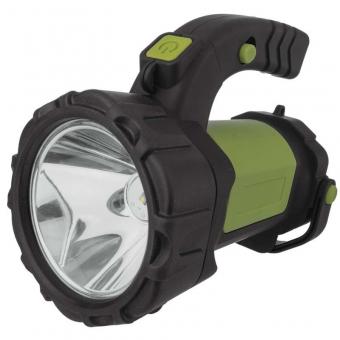 Įkraunamas žibintas  5W CREE + COB LED