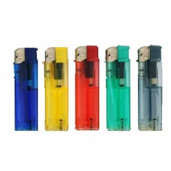 Plastic lighter, transparent