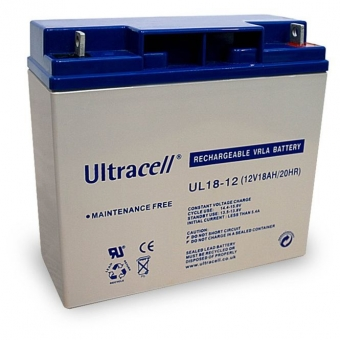 Akumuliatorius Ultracell 12 V 18 Ah